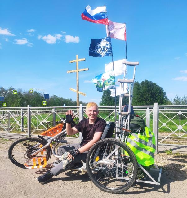 Фото «Из Грязи в Князи». Путешественник решил пешком добраться из Липецкой в Кировскую область