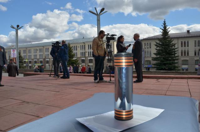 Фото В Кирове на территории ДК железнодорожников заложили «Капсулу времени»