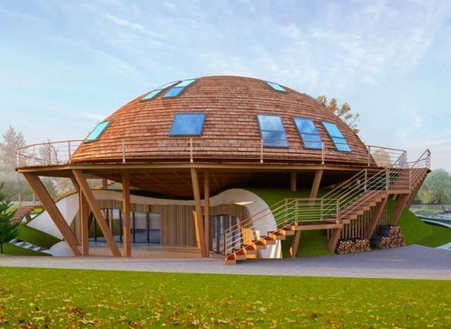 Фото В Кировской области строят первый в России вращающийся дом