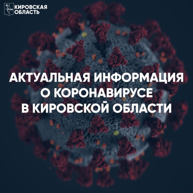 Фото В Кировской области количество заболевших коронавирусом за сутки вновь перевалило за сотню