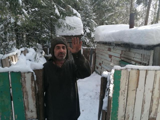 Фото В Кировской области отшельнику, прожившему в лесу 10 лет, нашли жилье