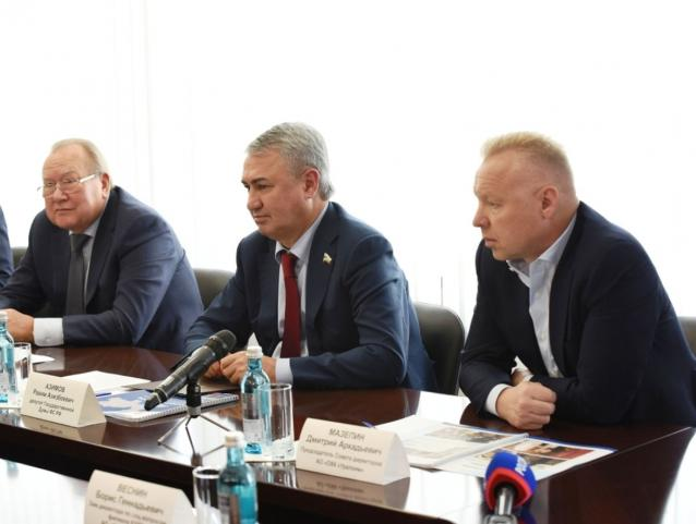 Фото Промышленники области поддержали выдвижение Рахима Азимова