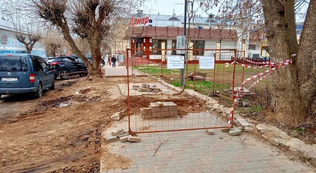 Фото В Кирове подрядчика обязали благоустроить территорию после раскопок